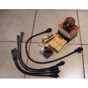 07025 Set - Spark Plug wires, rotor, distributor cap, spark plugs Murena 1.6