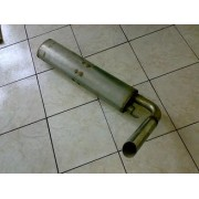 05014RVS - Murena 2.2 silencer - stainless steel