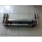 24007DUB - Murena 4 pipe Devil silencer -steel