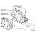 01003R - Motorblok 1.6 ( Ruilonderdeel )